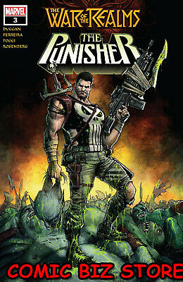 War Of The Realms Punisher #3 (Of 3) (2019) 1St Printing Ferryra Main Cover