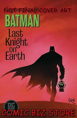 Batman Last Knight On Earth  #1 (Of 3) (2019) 2Nd Print Capullo Var Cvr ($5.99)