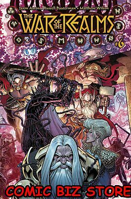War Of The Realms #6 (Of 6) (2019) 1St Printing Arthur Adams Main Cover ($5.99)
