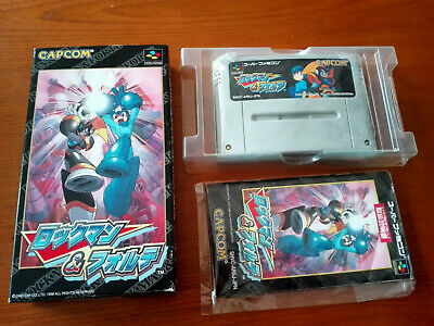 ROCKMAN & FORTE (Mega Man & Bass) - Super Famicom/SNES [NTSC
