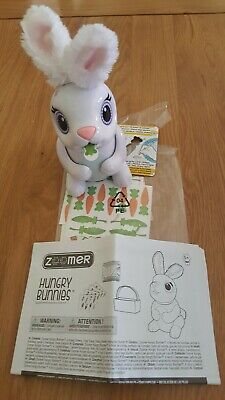 Zoomer Hungry Bunnies Interactive Eating Bunny Assortment 80