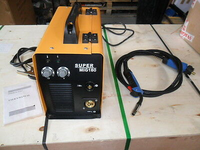 MIG WELDER  180 AMP INVERTOR  NEW BOXED inc EURO TORCH new