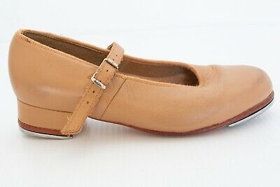 Girls Bloch Tap Dance Shoes Size 13 Tan