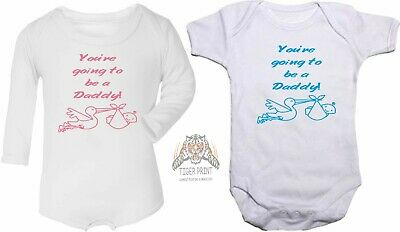 Baby vest bodysuit You're going to be a daddy pregnancy announcement