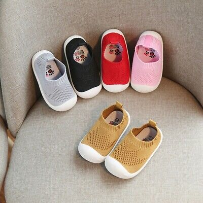 Toddler Infant Kids Baby Girl Boy Candy Color Mesh Sport Running Casual Shoes