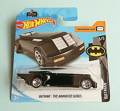 Hot Wheels Batman The Animated Series New Collectable Toy Model Car Black