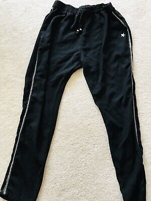 """Girls """"NEXT"""" Lightweight trousers with gold trim-age age 10 years"""