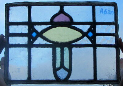 A620    Stained Glass Ca 1930s