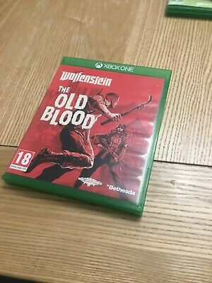 Wolfenstein: The Old Blood for Xbox One in MINT Condition