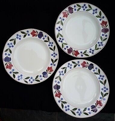 "Adams Old Colonial - 3 8"" Plates - Desert/Starter/Salad?"