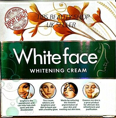 White Face Whitening Cream Fairness Lightining Acne Pinmple Spots Geniune 100%