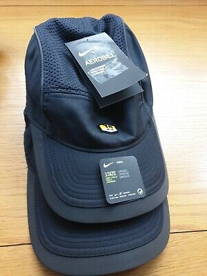 f625b46c686342 Mens Nike TN Air Aerobill AW84 5 Panel Cap Hat Strapback Black White Green