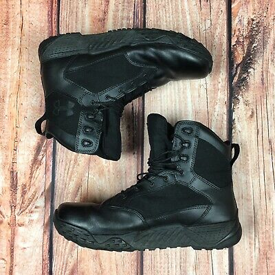 UNDER ARMOUR BLACK SZ 12 Men Stellar Tactical Military Boots