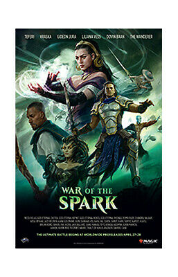 MTG • War of the Spark • Poster • Magic the Gathering • New