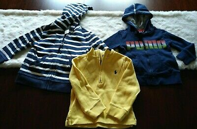 Boys lot (3) 2T Spring/ Summer Tops - Polo Ralph Lauren, Janie and Jack & Puma