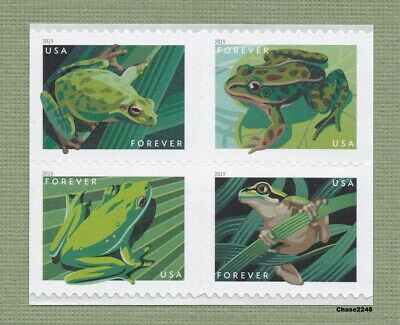 *NEW* 2019 Frogs (Booklet Block of 4) 2019 Mint NH - *In Stock*