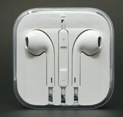Apple OEM EarPods Stereo Headphones w/ Remote & Microphone (MD827LL/A) - NEW