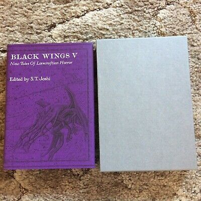 BLACK WINGS V: New Tales of Lovecraftian Horror Joshi (ed) 300 copy SIGNED/LIMIT