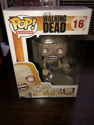47ca0ec816 FUNKO POP THE WALKING DEAD BICYCLE GIRL #16 IN GREAT CONDITION Brand New