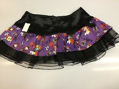 Hell Bunny Plus Size Rockabilly Purple Long Voluminous Petticoat S-XL 1X-4X