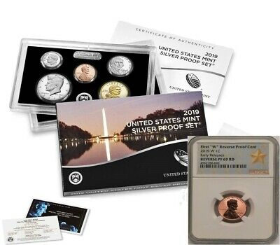 2019 S US Clad Proof Set NGC GEM PF FDI /& W Lincoln Cent PF69 UC RD FDI SKU57605