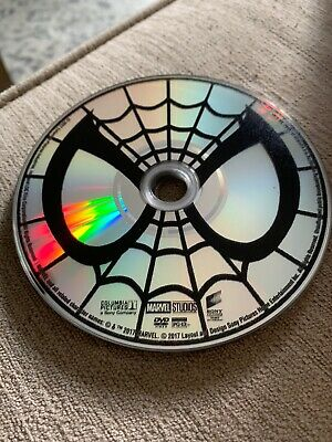 Spider-Man: Homecoming (DVD, 2017) DISC ONLY