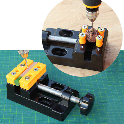 Aluminum Alloy Plate Clamp Drill Machine Auxiliary Opening Vise Household Tool