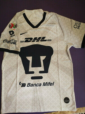 2019-2020 Pumas UNAM Home Soccer Jersey And the LIGA MX patch size S-2XL