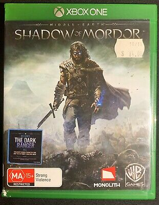 XBOX ONE - Middle Earth: Shadow of Mordor - Excellent Condition - FREE POST !