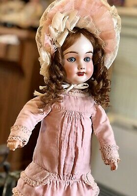Antique  Bisque French LIMOGES Doll