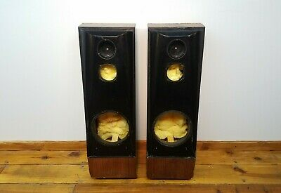 Pair of Thiel CS3 Coherent Source Loudspeaker Cabinet Enclosures with Damping