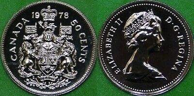 1978 Canada Square Jewels Half Dollar Graded as Proof Like From Original Set