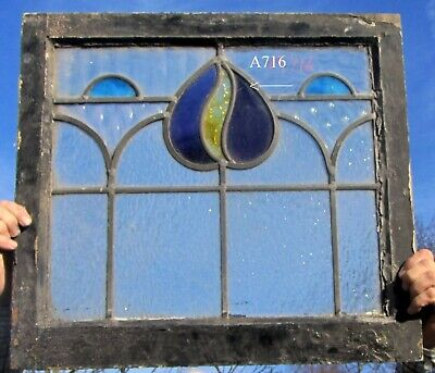 A716 Ca 1890s Stained glass