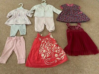 Monsoon, Jojo, Maman Bebe, gap, mothercare 0-3m / new baby bundle (8 pieces)
