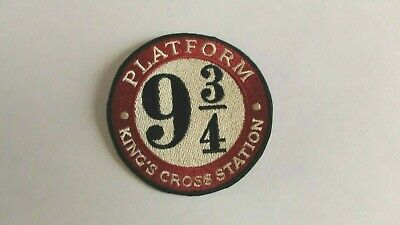 Patch écusson Harry Potter platform 9 3/4king's cross station