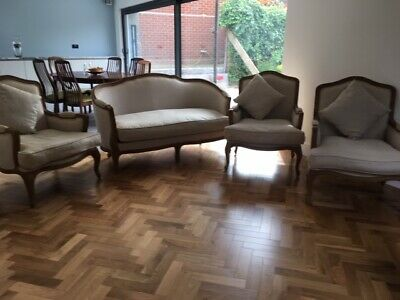 French Louis Style Sofa and Chairs