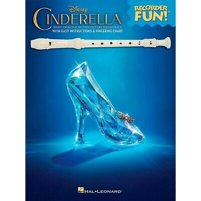 Hal Leonard Cinderella Music From The Soundtrack Recorder Fun! (Book Only)