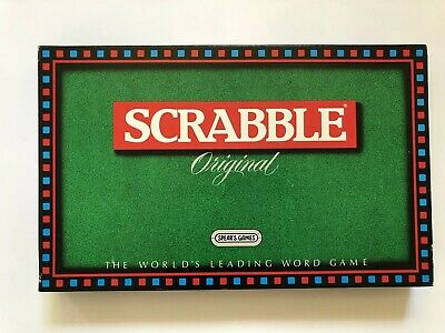 Scrabble Original Board Game by Spear's Games - Incomplete - 85 Letters Only