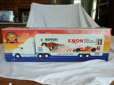 EXXON 1995 Toy Truck Race Car Carrier World Sports Car Championship Series 4