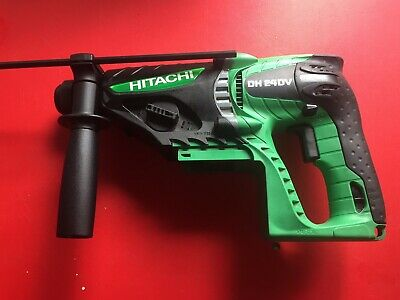 Hitachi DH24 DV SDS Drill (bare unit) with auxiliary handle and depth gauge