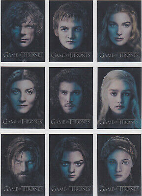Game Of Thrones Season 3 Game Of Thrones Gallery Insert Set Pc1-Pc12 (12)