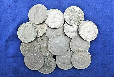 10 British Halfcrowns Bulk Buy From 1947-67 Choose Your Amount Free Uk Post