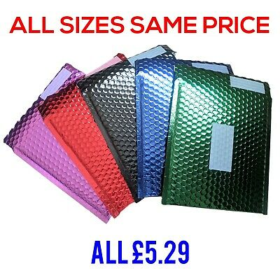 Office Depot - Metallic Foil Colour Mailing Padded Mailers Bags Jiffy Bags CHEAP