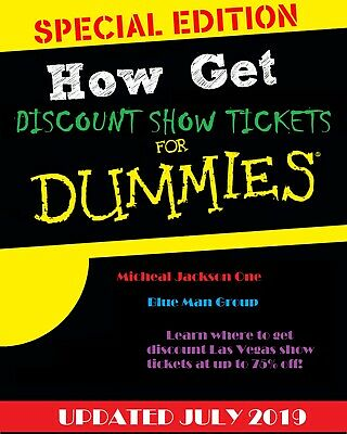 How to Get Discount Las Vegas Show Tickets Promo pdf ebook Free Shipping