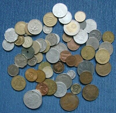 Job Lot Of Mixed Foreign / World Coins