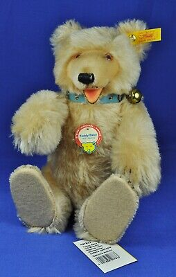 Steiff: Teddy Baby Bär / Bear, 1930 Replica, blond, 407833, KFS / all IDs, 29 cm