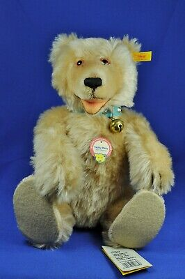 Steiff: Teddy Baby Bär / Bear, 1930 Replica, blond, 407857, KFS / all IDs, 35 cm