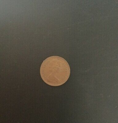 Rare 1975 Decimal 1/2 Half Penny New Penny Coin Circulated