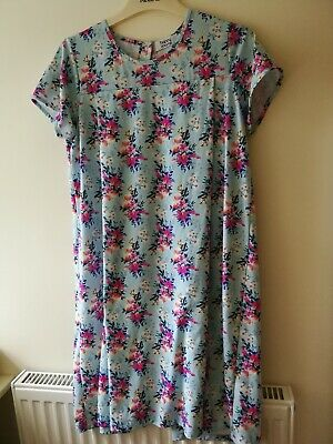 Maternity Nursing Nighties Nightwear Bundle Size L XL Floral Navy