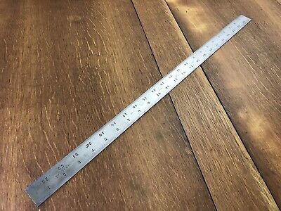 "Starrett 24"" Shrink Rule / Scale No. 377 Tempered Tool - Patternmaker Woodwork"
